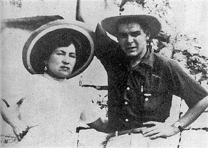 Первая жена Ильда Гадеа и дочь Ильда