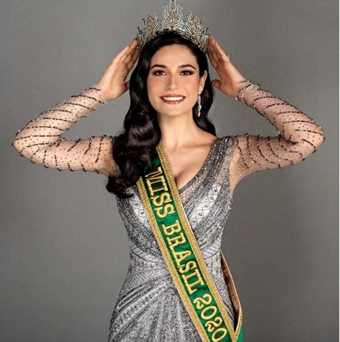 Джулия Гама победила на конкурсе «Мисс Бразилия-2020» и будет представлять страну на конкурсе «Мисс Вселенная».